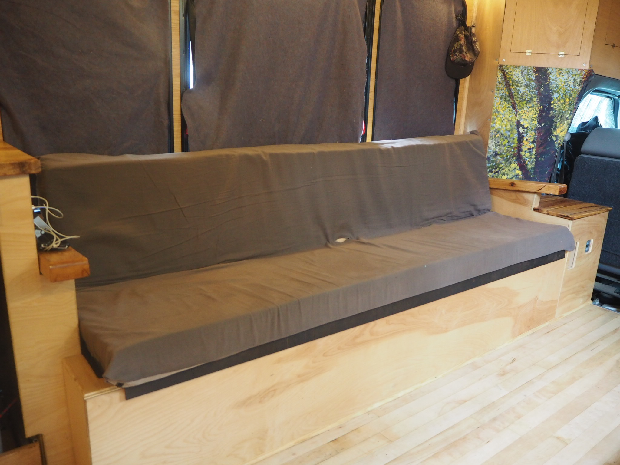 Swell Rock N Roll Hinge Bed Couch Pros And Cons The Build Van Theyellowbook Wood Chair Design Ideas Theyellowbookinfo